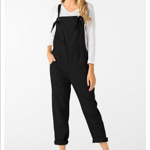 Yoins Square Neck Sleeveless Overalls